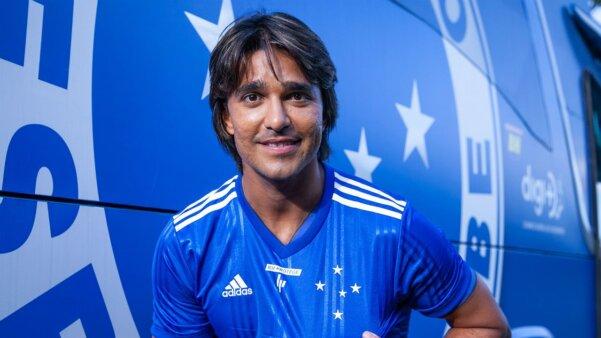 Marcelo Moreno em ação pelo Cruzeiro