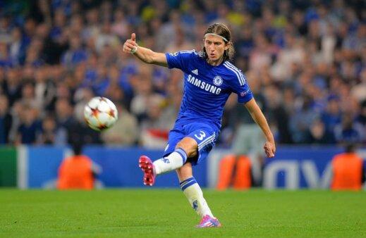 Filipe Luís atuou no Chelsea.