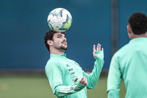 Daniel Cabral em ação pelo Flamengo