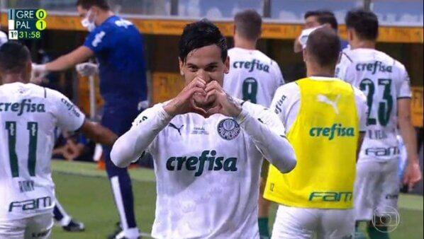 Grêmio x Palmeiras gol