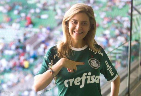 Leila Pereira conselheira Palmeiras candidata presidência