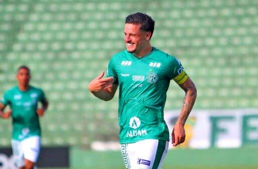 O meia Lucas Crispim (Foto: Thomaz Marostegan/ Guarani FC)
