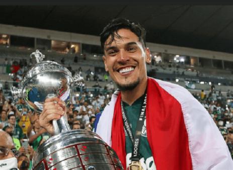 Gómez é peça-chave no Palmeiras na LIbertadores.