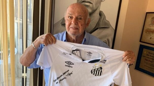 Pepe, ex-atacante e ídolo do Santos (Foto: Divulgação/ Site oficial do Santos FC)