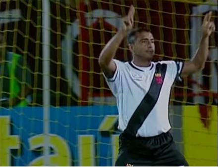 Romário brilhou no Vasco.