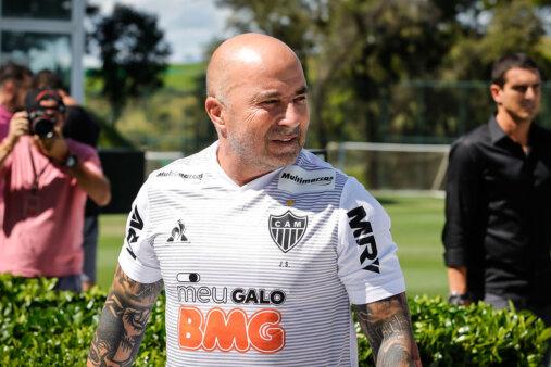Sampaoli deve deixar o Atlético-MG.
