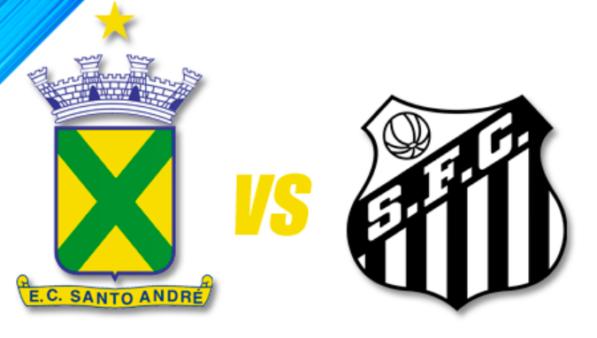 Santo André x Santos ao vivo