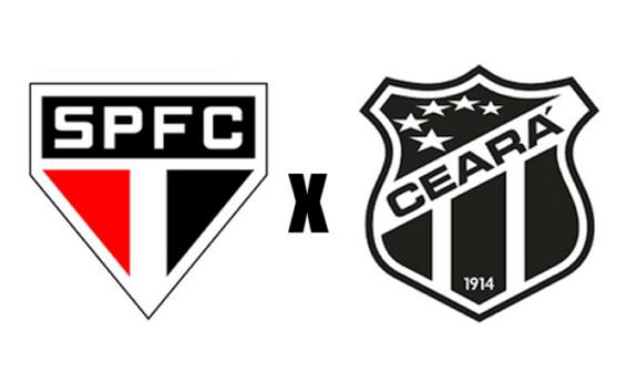 São Paulo x Ceará ao vivo