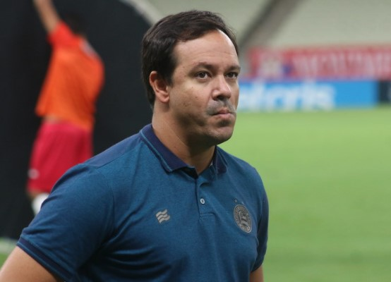 O técnico Dado Cavalcanti (Foto: Felipe Santana/ EC Bahia)