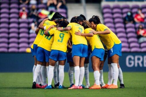 Canadá x Brasil AO VIVO pelo futebol feminino - Foto: Sam Robles/ CBF (Reprodução/ Site oficial da Confederação Brasileira de Futebol)