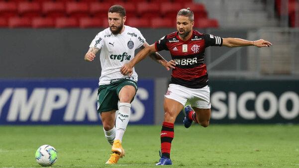 Palmeiras, Flamengo