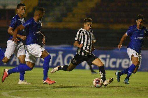 O meia Gabriel Pirani (Foto: Ivan Storti/ Reprodução/ Flickr oficial do Santos FC)