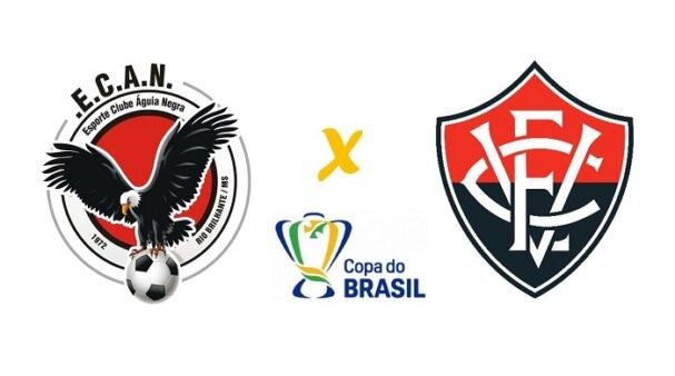 Águia Negra x Vitória AO VIVO: onde assistir ao duelo da Copa do Brasil