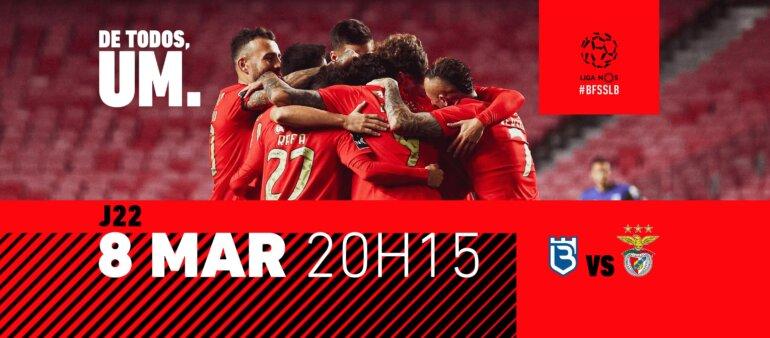 Belenenses x Benfica guia