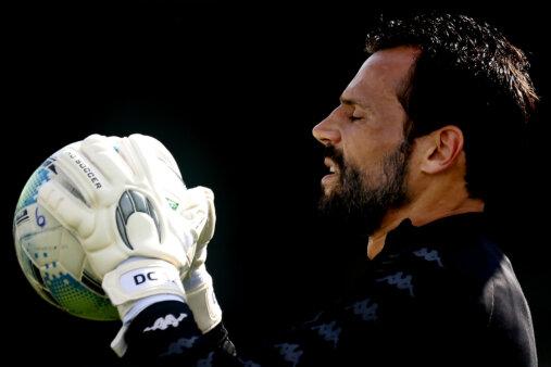 Diego Cavalieri em ação pelo Botafogo