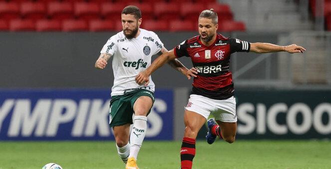 Palmeiras vai encarar o Flamengo na Supercopa.