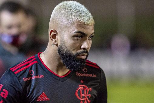 Gabigol esteve em Boavista x Flamengo Palmeiras.