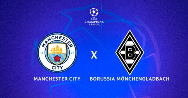 Manchester City x Monchengladbach guia