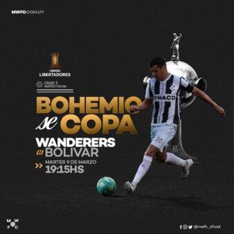 Montevideo Wanderers x Bolívar