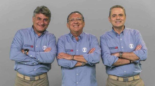 Globo dá férias para narradores Luís Roberto e Galvão Bueno