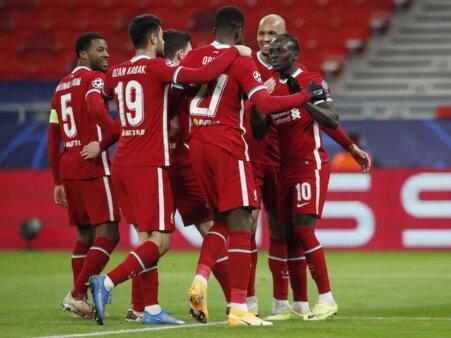 Liverpool escalação