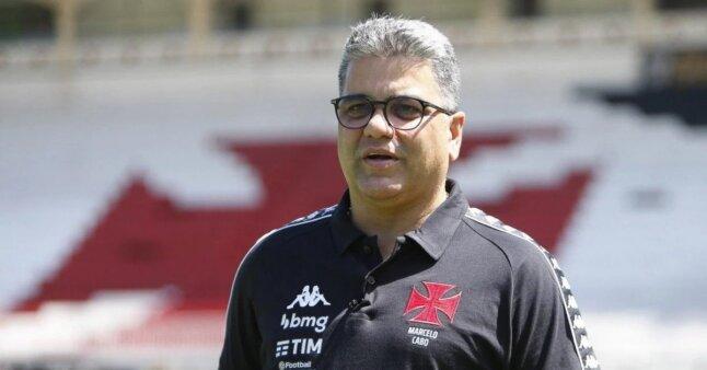 Marcelo Cabo em ação pelo Vasco