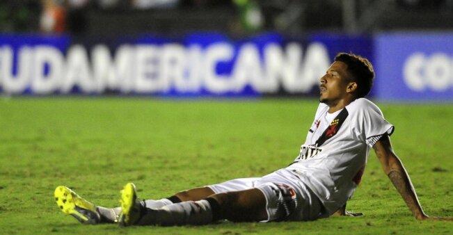 Caio Monteiro em ação pelo Vasco