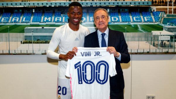 Vinícius Jr, Real Madrid