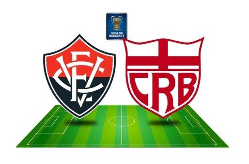 Como assistir Vitória x CRB AO VIVO pela Copa do Nordeste (Imagem: Reprodução/ Arte: Adriano Oliveira)