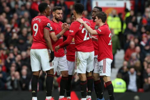 Manchester United escalação