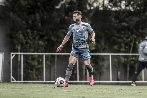 Lucas Venuto, atacante do Santos (Foto: Ivan Storti/ Reprodução/ Flickr oficial do Santos FC)