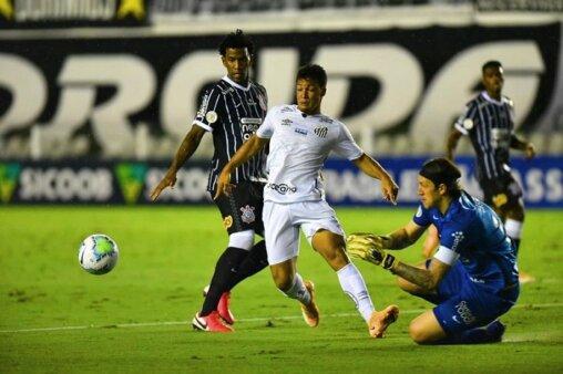 Santos x Corinthians AO VIVO pelo Paulistão (Foto: Ivan Storti/ Reprodução/ Flickr oficial do Santos FC)