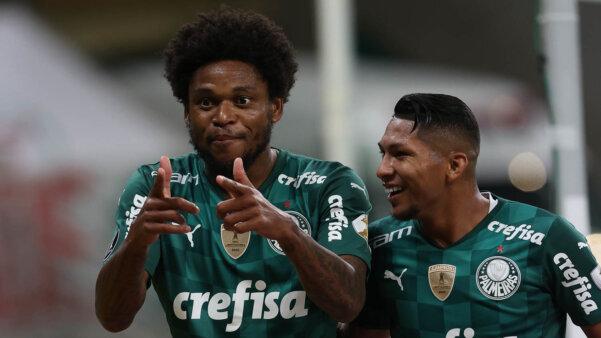 Luiz Adriano e Rony seguem brilhando pelo Palmeiras na Libertadores