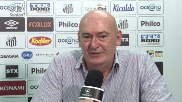 Após saída de Hoaln, presidente do Santos defini perfil para novo treinador