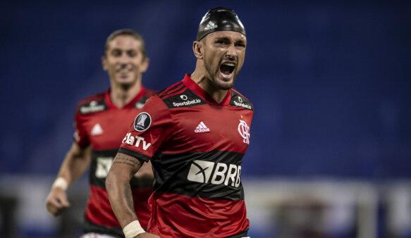 Arrascaeta brilhou em vitória do Flamengo.