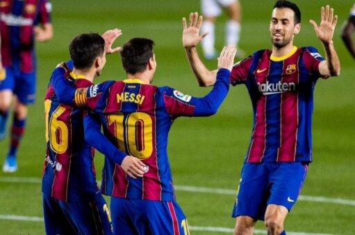 Barcelona escalação