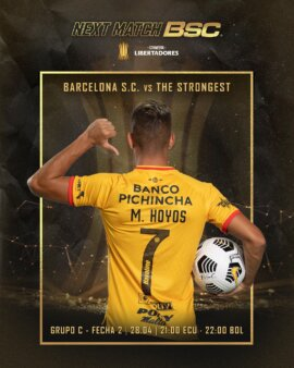 Barcelona-EQU x The Strongest guia
