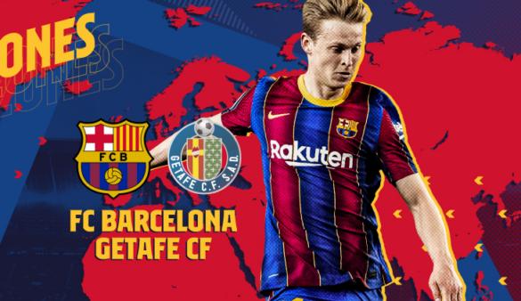 Barcelona x Getafe assistir
