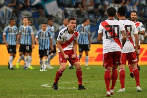 Jornal argentino destaca jogador do River mais temido pelo Fluminense
