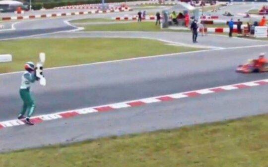 FIA suspende Luca Corberi por 15 anos após confusão no mundial de kart