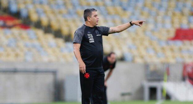 Marcelo Cabo em Flamengo x Vasco