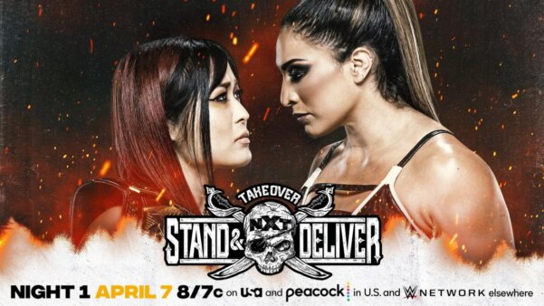 Card final NXT Takeover Stand & Deliver