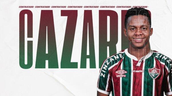 Mercado da bola Cazares Fluminense