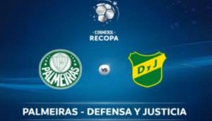 Defensa Y Justicia x Palmeiras ao vivo