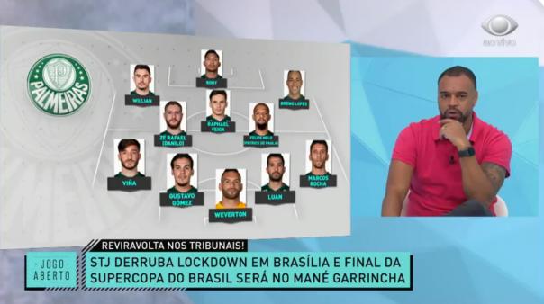 Denilson apontou mudança que faria no Palmeiras.