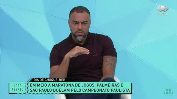 Denilson falou sobre Palmeiras x São Paulo.