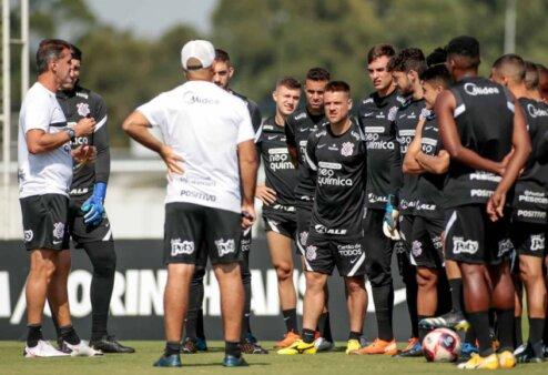 Desfalques Corinthians Santos