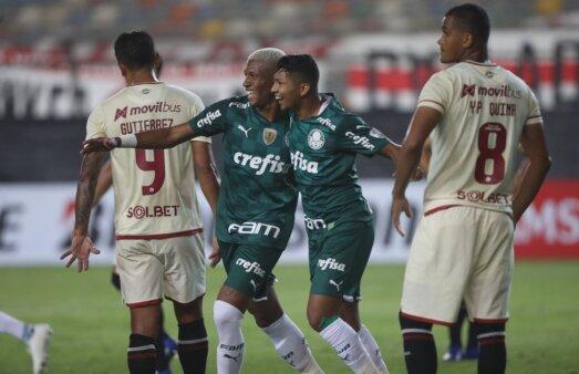 Universitario x Palmeiras gols