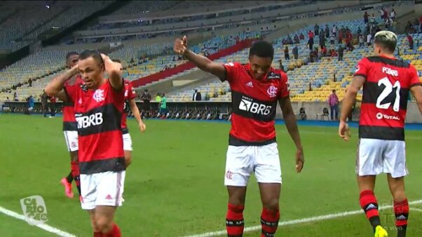 Flamengo x Volta Redonda gols
