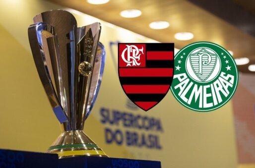 Como assistir Flamengo x Palmeiras AO VIVO pela Supercopa do Brasil - Foto: Thais Magalhães/ Site oficial da CBF (Arte: Adriano Oliveira)